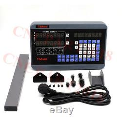 12 & 36 Linear Scales 2 Axis Digital Readout DRO Display CNC Milling Lathe