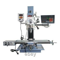 2Axis Digital Readout TTL Linear Scale 250&1100mm DRO Encoder For Milling Lathe