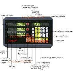2/3Axis Digital Readout 5µm DRO Display Linear Scale for Milling Lathe Machine