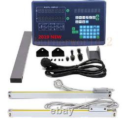 2/3Axis Digital Readout 5um Linear Scale DRO Display CNC Milling Lathe Encoder