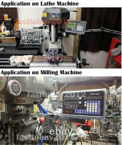 2/3/4/5Axis Digital Readout DRO Display 5µm TTL Linear Scale CNC Milling Lathe
