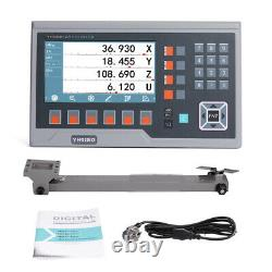 2 3 4 5 Axis DRO Digital Readout Encoder Metal Display Linear Scale Lathe Mill