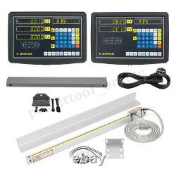 2/3 Axis DRO Milling Lathe Digital Readout Display Console / TTL Linear