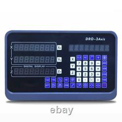 2/3 Axis Digital Readout 5um Linear Scale DRO Display CNC Milling Lathe Encode T