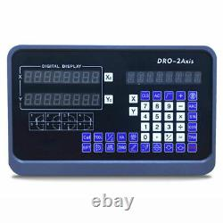 2/3 Axis Digital Readout 5um Linear Scale DRO Display CNC Milling Lathe Encoder