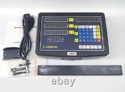 2/3 Axis Digital Readout 5um Linear Scale TTL DRO Display Kit CNC Milling Lathe