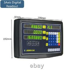 2/3 Axis Digital Readout DRO Display OR Linear Scale CNC Milling Lathe Encoder
