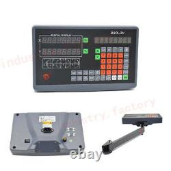 2/3 Axis Digital Readout Display DRO for Linear Scale CNC Milling Lathe Machine