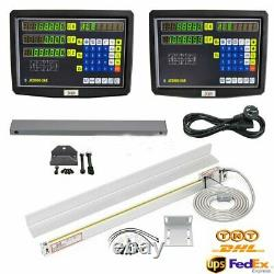 2 3 Axis Digital Readout Linear Scale DRO Display CNC Milling Lathe Encoder EDM
