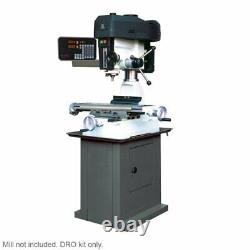 2 Axis Chester Machine Tools Eagle 25 Mill/Drill DRO Kit (Mill not included)