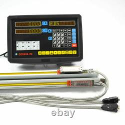 2 Axis DRO Digital Readout Linear Scale for Milling Lathe Machine High Precision
