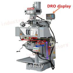 2 Axis DRO Digital Readout with Linear Scale 300&600mm 5m Milling Lathe Machine