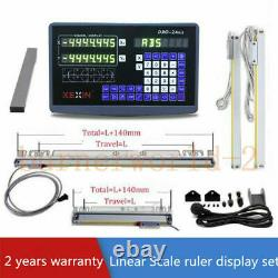 2 Axis Digital Readout Linear Scale 900&300mm DRO Ruler Milling Drilling Machine