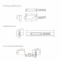 2 Axis M-DRO Mill Function Digital Readout Package with 350mm and 750mm Encoders
