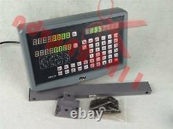 2-Axis Precision DRO Digital Display Readout For Milling Lathe Machine SNS-2V