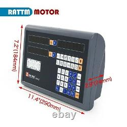 2 Axis or 3 Axis LCD Digital Readout Dro For CNC Milling Lathe Drilling Machine
