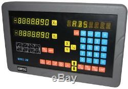 2-axis digital readout (DRO) for mill (complete kit, UK stocking)