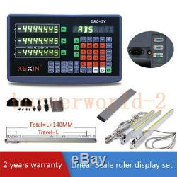 3 Axis Digital Readout 900450500mm Linear Scale Encoder DRO Milling Machine