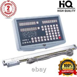 3 Axis Digital Readout Dro+3pcs Procision Linear Scale for Milling Lathe TOP