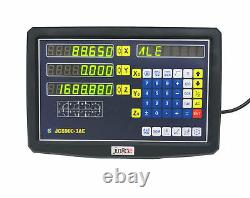 3 Axis Digital Readout Dro Display Console With 3 Linear Scale Travel MILL Lathe
