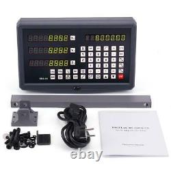 3 Axis Digital Readout Linear Scale DRO Display CNC Milling Lathe Encoder UK
