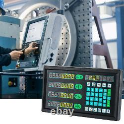 4 Axis Digital Readout Mill, Linear Encoder, LED Screen, DRO for Milling Machine