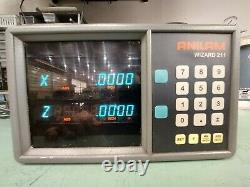 ANILAM WIZARD 211 2 AXIS READ OUT DISPLAY DRO 9-pin A221200 CNC Mill Lathe