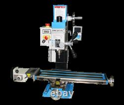 Amadeal VM25LV Milling Machine R8 with 3 axis DRO+ POWERFEED