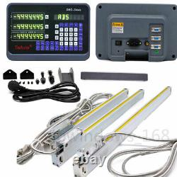 Axis Digital Readout DRO For Milling Lathe Machine And Precision Linear Scales