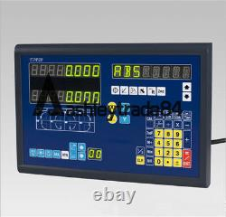 BiGa 2 AXIS DRO DISPLAY DIGITAL READOUT MILLING LATHE WITH LINEAR SCALES NEW