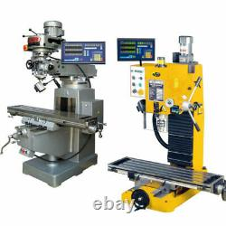 Biga Brand 3 Axis Dro Display Digital Readout Milling Lathe With Linear Scales