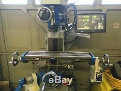Chester 626 Turret Mill Machine Align Power Feed Vertex Vice DRO 2axis RRP £3800