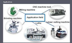 DRO 2 Axis Digital Readout with Linear Scale / Linear Encoder for Milling Lathe