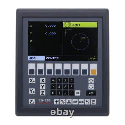 Digital Readout LCD Display Console Easson ES-12B 3 Axis Mill & Lathe Function