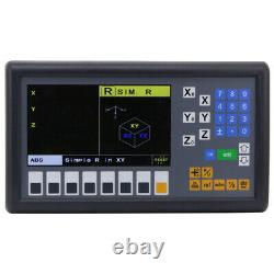 Digital Readout LCD Display Console Easson ES-12C 3 Axis Mill Lathe Function