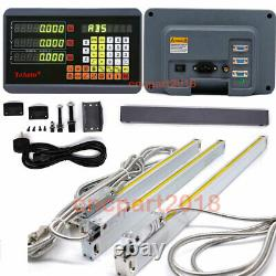 Digital Readout Linear Scale 5µm DRO Display for Milling Lathe Machine 2/3Axis