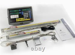 GCS900-2D 2-Axis DRO Digital Readout for Milling Lathe EDM with 2x Linear Scales