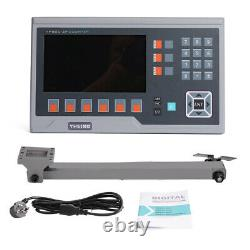 LCD Dro 2/3/4/5 Axis Linear Encoder Metal Display for Lathe Mill 50-1000mm Fast