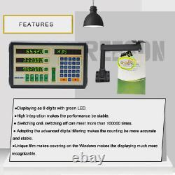 New 3 Axis Digital Readout Dro for Manual Lathe Milling Grinding Boring Machine