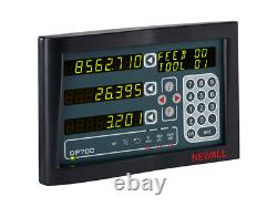 Newall Digital Readout 2 Axis DP700 DRO Display for Milling, Turning, Grinding