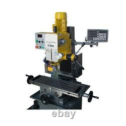 SEMCO MILL DRILL MACHINE With Power Feed and 3 Axis DRO