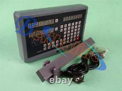 SNS-2V 2 Axis DRO Digital Display Readout For Milling Lathe Machine
