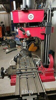 Sieg Mini Milling Drilling machine With 3 Axis DRO and power feed X axis XL bed