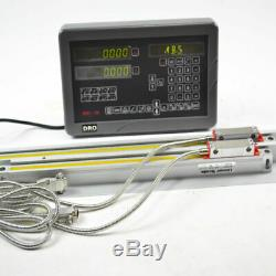 Sinpo 2 Axis Digital Readout Dro Kit For Milling Machine With Linear Scales
