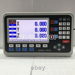 Two and three axis lathe Milling machine Linear scale digital display electronic