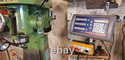 Warco VMC Milling Machine With X3 Axis Dro